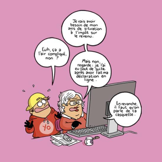 impots en ligne humour