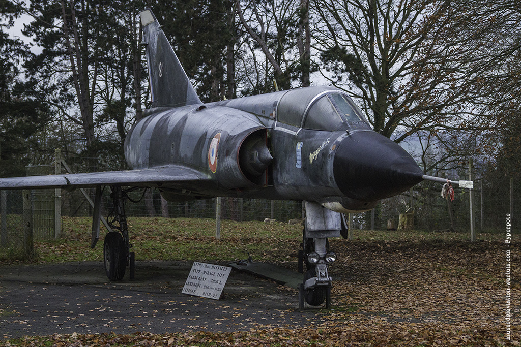 Dassault Mirage IIIE n°573 Au Musée de l'Aviation de Warluis_sevran seniors