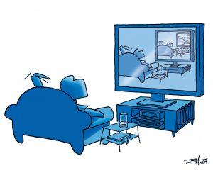 passer à la tv