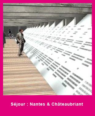 Séjour Nantes et Châteaubriant