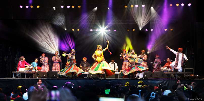 "Spirit of India"" du Bollywood Masala Orchestra"