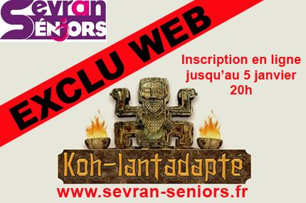 Inscriptions en ligne Koh Lantadapté