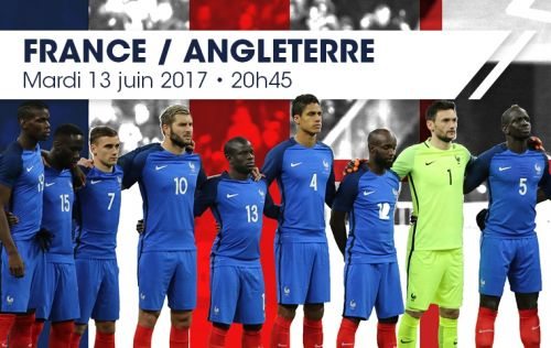 rencontres france angleterre foot