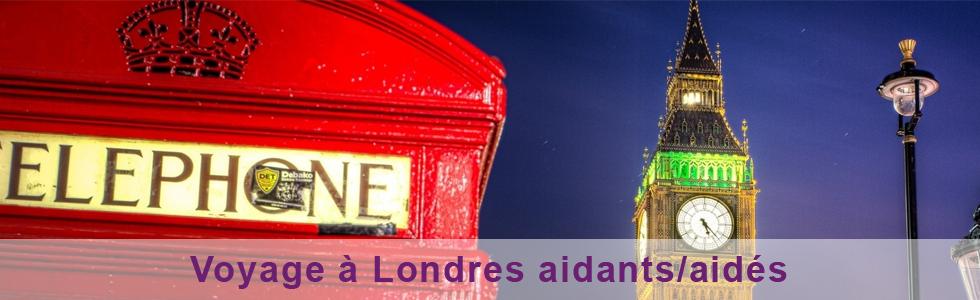 Voyage à Londres aidants-aidés