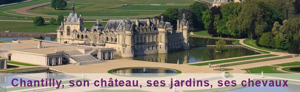 Une sortie à Chantilly autour du château et des chevaux