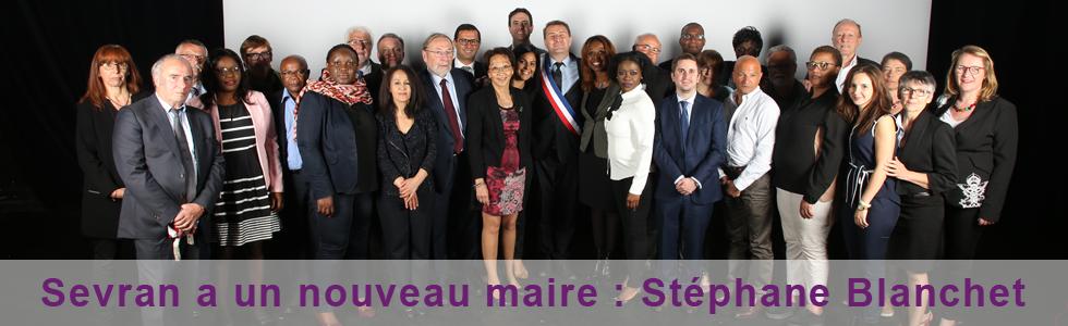 Sevran a un nouveau maire : Stéphane Blanchet