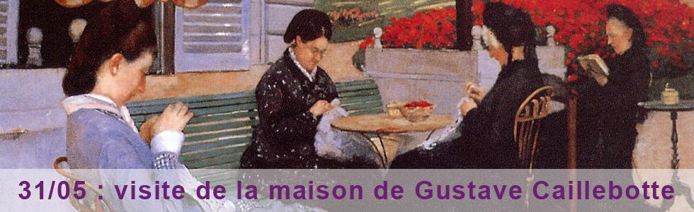 Gustave Caillebotte et sa maison