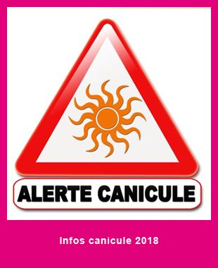 Infos canicule