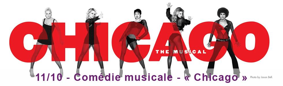 1er octobre : comédie musicale « Chicago »